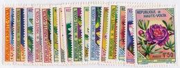 Burkina Faso (  Sc# 111-126)  MNH  (Complete Set Of 16)  FLOWERS (1962) - Burkina Faso (1984-...)