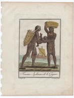 R9) Guyane Femmes Indiennes De La Guyane - Vieux Papiers