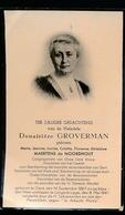 ADEL NOBLESSE  MARIE MAERTENS DE NOORDHOUT - GENT 1867  LANGERBRUGGE 1947 - Décès