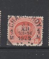 COB 199 Oblitéré CHARLEROY 1M - 1922-1927 Houyoux