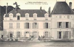 91 1 SOISY SOUS ETIOLLES Ecole Du Château Vue De Face Le Perron - France
