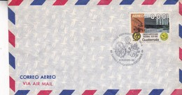 AIRMAIL GUATEMALA  VISITA SS JUAN PABLO II A GUATEMALA SPECIAL COVER 1983 - BLEUP - Popes