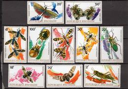1973 - RUANDA - Catg.. Mi.  538/547 - NH - (CW1822.4) - Rwanda