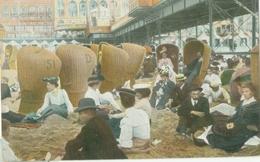 Scheveningen 1907; Strandleven (van De Elite) - Gelopen. (Dr. Trenkler Co. - Leipzig) - Scheveningen