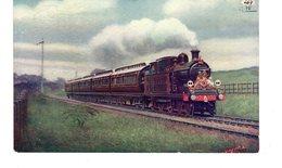Les Locomotives (Royaume-Uni) ROYAL TRAIN NEAR BANSTEAD L B & S C Ry. - Eisenbahnen