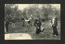 40 - Une Noce Dans Les Landes - L'Invitation Dans Les Champs - L'embitation Oöu Cam - 1915 - RARE - France
