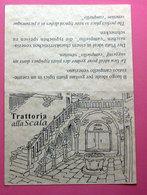 TRATTORIA  ALLA SCALA VENEZIA - Visiting Cards