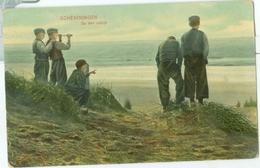 Scheveningen 1908; Op Den Uitkijk - Niet Gelopen. (Dr. Trenkler Co. - Leipzig) - Scheveningen