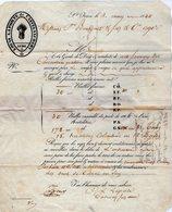 VP14.219 - Aude - SAINT - JEAN 1840 - Lettre Commerciale -  Mr Louis LAPORTE De CASTELNAUDARY - Balles Farines - 1800 – 1899