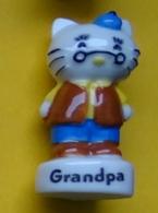 Fève - Chat à Lunettes - Grandpa - Animaux