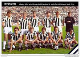 ITALIA     SQUADRA     JUVENTUS      1972 - Calcio