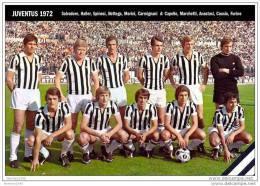 ITALIA     SQUADRA     JUVENTUS      1972 - Football