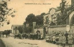 140119 - 28 TRANCRAINVILLE Mairie Et école - Enfant Animée - Francia