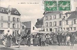 MEAUX - Un Coin Du Marché. - Meaux