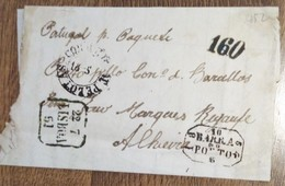 Carta Brasil - Portugal (falso - Forgery) - Portugal