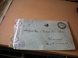 WW2 Nazy Okupation Petrovgrad Zrenjanin T  Postzensur  1943 - Serbie