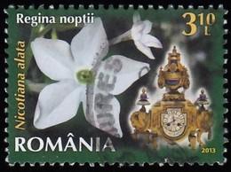 ROMANIA - Scott #5458 French Chimney Clock (*) / Used Stamp - Clocks