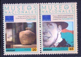 2.- URUGUAY 2018 Mercosur Series - National Museums 2018  POTTERY BIKES - Uruguay