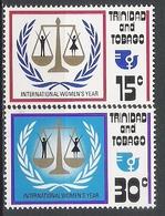 Trinité N° 334/35  YVERT NEUF ** - Trinidad & Tobago (1962-...)