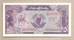 Sudan - Banconota Non Circolata Da 25 Piastre P-37 - 1987 - Sudan