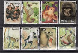 1978 - RWANDA - Catg.. Mi.  922/929 - NH - (CW1822.5) - Rwanda