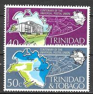 Trinité N° 332/33  YVERT NEUF ** - Trinidad & Tobago (1962-...)