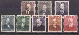 Cuba Nº 503 Al 510 - Cuba