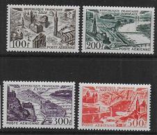 FRANCE - PA  Série 24 à 27 ** - Cote : 110 € - Airmail