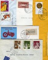 Weltweit / Belegeposten Mit Rd. 80 Belegen (5/278-400) - Stamps