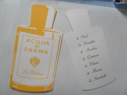 Acqua Parma 2 - Cartes Parfumées