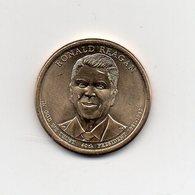 Stati Uniti - 2016 - 1 Dollaro - Ronald Reagan - (40° Presidente 1981 -1989) - Vedi Foto - (MW1967) - Federal Issues