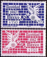 Mexico 1987 Sc 1523 Christmas Nawidad Natal Bird MHN** W 830 - Mexique