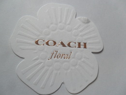 Coach Floral - Perfume Cards