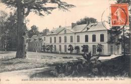 91 230 SOISY SOUS ETIOLLES Château Du Haut Soisy Façade Sur Le Parc - France