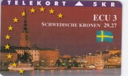 Denmark, TP 106, Ecu Series - Sweden, Castle, Flag, Only 1500 Issued, 2 Scans. - Denmark