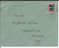 SBK J39, Mi 220 Hinwil - Briefe U. Dokumente