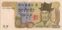 South-Korea 5000 Won (P51) 2002 -UNC- - Corée Du Sud