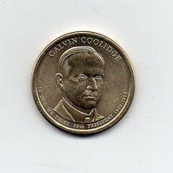 Stati Uniti - 2014 - 1 Dollaro - Calvin Coolidge - (30° Presidente 1923 -1929) - Vedi Foto - (MW1968) - Emissioni Federali