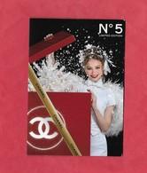 CARTE DE CHANEL 3 VOLETS - Cartes Parfumées