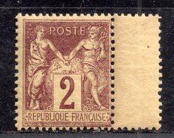 Sage N° 85 Neuf ** Gomme D'Origine Sans Charnière à 15% De La Cote  TB - 1876-1898 Sage (Type II)