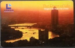 Telefonkarte Thailand - Lenso -  Bangkok -  300 Baht - Thaïland