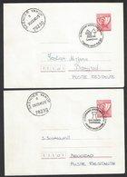Chess, Yugoslavia Skender Vakuf, February/March 1980, Special Cancels On Envelopes, Yugoslav Championship - Schaken