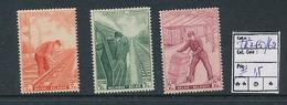 BELGIUM  COB TR260/262 MNH - 1942-1951