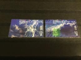 Noorwegen / Norway - Complete Set Meteorologie 2016 - Used Stamps