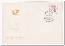 DDR 1963, FDC, 25th Anniversary Of The November Pogroms - FDC: Enveloppes