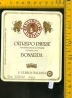 Etichetta Vino Liquore Bonarda S. Ulrico - Etichette
