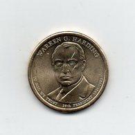 Stati Uniti - 2014 - 1 Dollaro - Warren G. Harding (29° Presidente 1921 -1923) - Vedi Foto - (MW1970) - Emissioni Federali