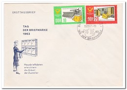 DDR 1963, FDC, Day Of The Stamp - FDC: Enveloppes