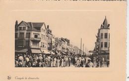 Koksijde  ; Coxyde   Le  Dimanche - Koksijde