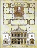 2008 Vatikan  Mi. Bl 31**MNH   500. Geburtstag Von Andrea Palladio. - Blocks & Sheetlets & Panes